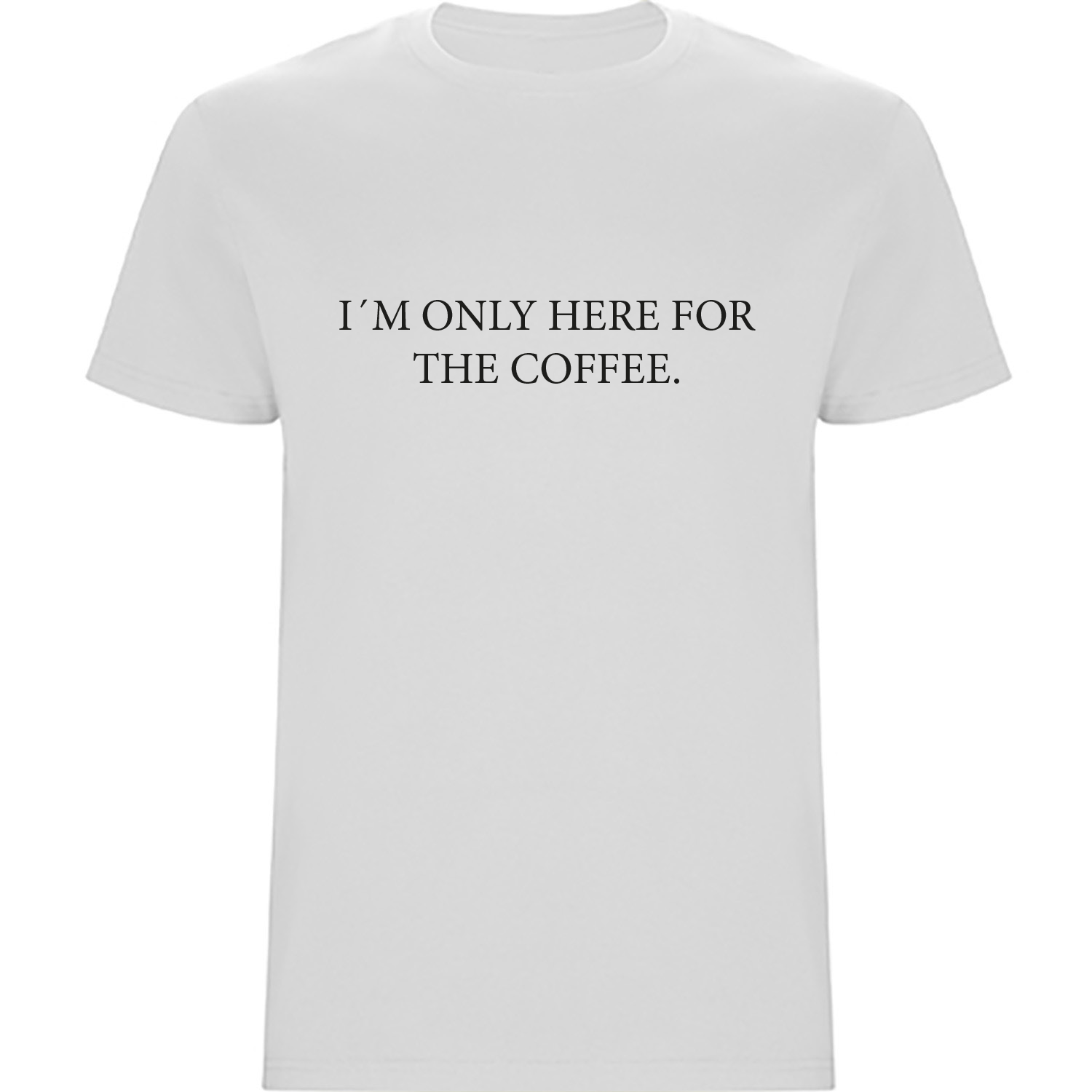 Frauen T-Shirt (Loose Fit) - Only here for coffee